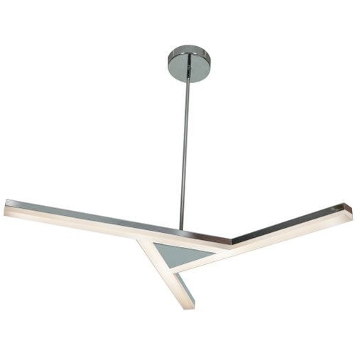 Access Lighting Aviator Collection Dimmable LED Pendant in Chrome Finish