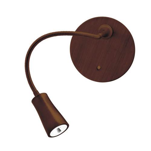 Access Lighting Epiphanie Collection Gooseneck Wall Lamp in Bronze Finish