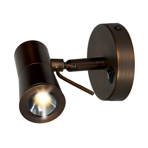 Access Lighting Cyprus 2 Collection LED Plug-In Headboard Lamp in Bronze Finish