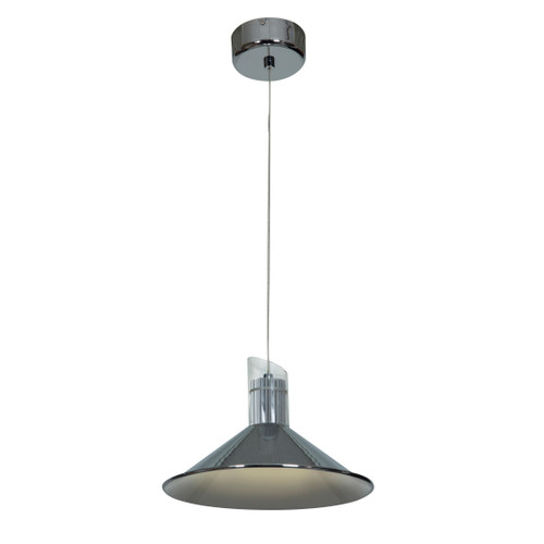 Access Lighting Pulse Collection LED Sphere Pendant in Chrome Finish