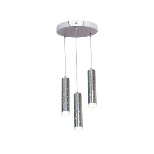 Access Lighting Rain Collection LED Pendant in Chrome Finish
