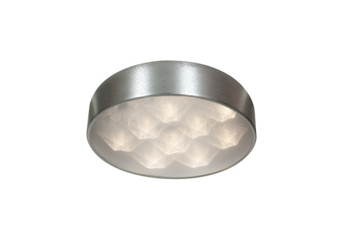 Access Lighting Meteor Collection Dimmable LED Flushmount in Brushed Silver Finish