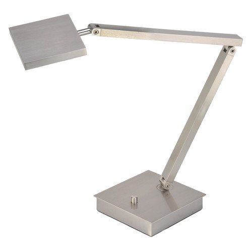 Access Lighting TaskWerx Collection Urban LED Table Lamp in Brushed Steel Finish