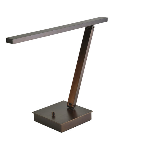 Access Lighting TaskWerx Collection Linear LED Table Lamp in Bronze Finish