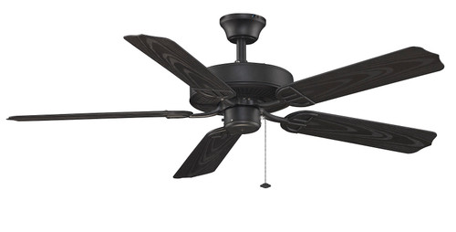 Fanimation Aire Décor - 52 inch - Black - Damp Rated