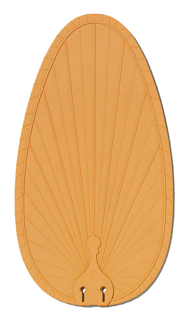 Fanimation Caruso Blade Set of Ten - 22 inch - Narrow Oval Composite Palm - Natural