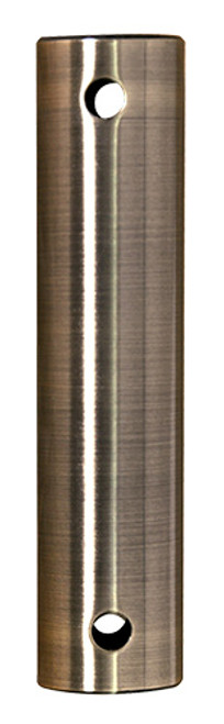 Fanimation 24-inch Downrod - Antique Brass - Stainless Steel