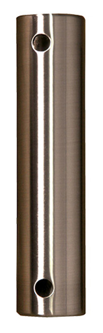 Fanimation 24-inch Downrod - Brushed Nickel - Stainless Steel