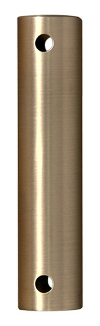 Fanimation 72-inch Downrod - Brushed Satin Brass - Stainless Steel