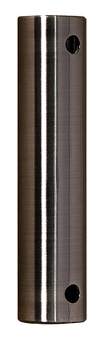 Fanimation 72- inch Downrod - Pewter - Stainless Steel