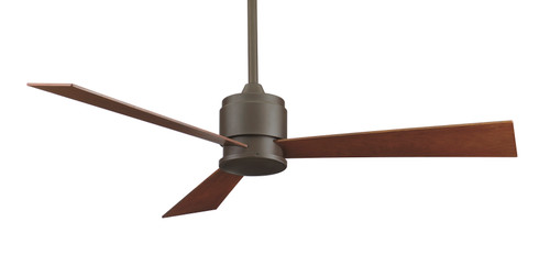 Fanimation Zonix - 54 inch - Oil-Rubbed Bronze with Cherry/Walnut Reversible Blades - 220v