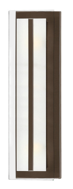 Hinkley Bath Latitude Collection Two Light Vanity in Oil Rubbed Bronze, 5651OZ