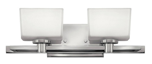 Hinkley Bath Taylor Collection Two Light Vanity in Chrome, 5022CM