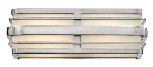Hinkley Bath Winton Collection Two Light Vanity in Brushed Nickel, 5232BN