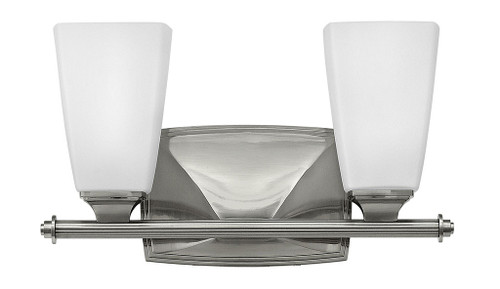 Hinkley Bath Darby Collection Two Light Vanity in Brushed Nickel, 53012BN