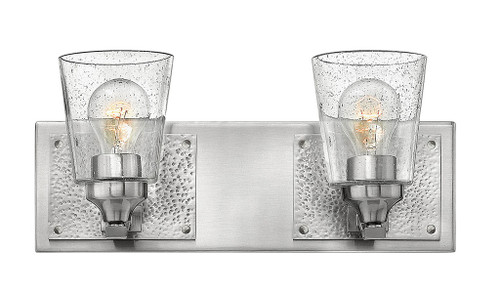 Hinkley Bath Jackson Collection Two Light Vanity in Brushed Nickel, 51822BN