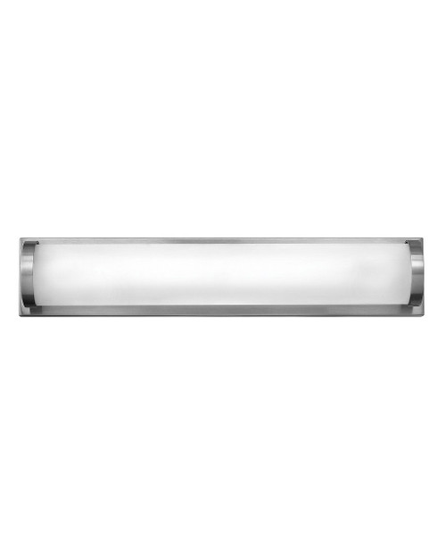 Hinkley Bath Acclaim Collection Small LED Vanity in Brushed Nickel, 53842BN