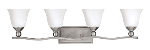 Hinkley Bath Bolla Collection Four Light Vanity in Brushed Nickel, 5894BN