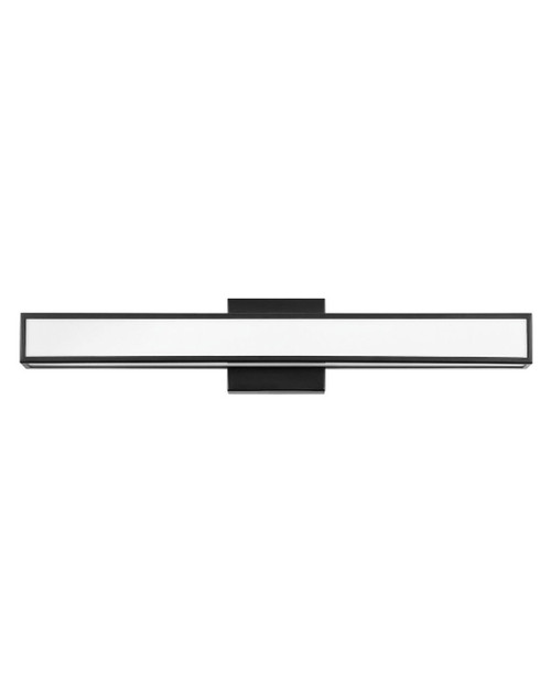 Hinkley Bath Alto Collection Medium LED Vanity in Black, 51403BK