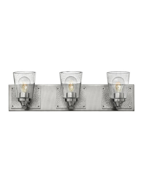 Hinkley Bath Jackson Collection Three Light Vanity in Brushed Nickel, 51823BN