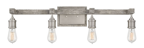 Hinkley Bath Denton Collection Four Light Vanity in Pewter, 5764PW
