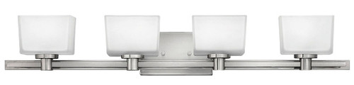 Hinkley Bath Taylor Collection Four Light Vanity in Brushed Nickel, 5024BN