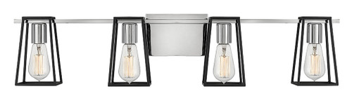 Hinkley Bath Filmore Collection Four Light Vanity in Chrome, 5164CM