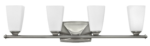 Hinkley Bath Darby Collection Four Light Vanity in Brushed Nickel, 53014BN