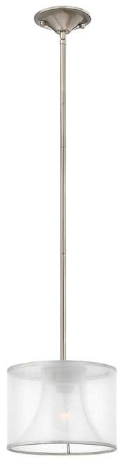 Hinkley Mini-Pendant Mime Collection Small Pendant in Brushed Nickel*, FR45607BNI