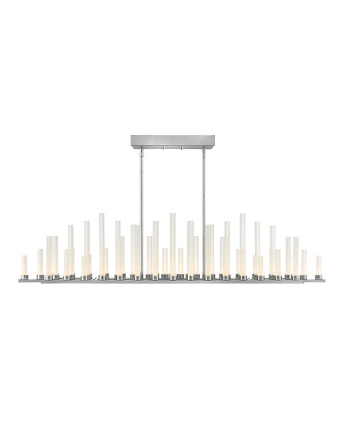 Hinkley Chandelier Trinity Collection LED Linear in Polished Nickel*, FR46108PNI