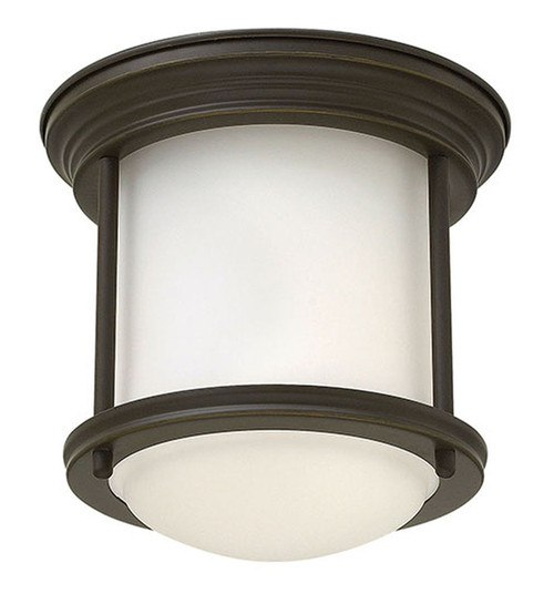 Hinkley Foyer Hadley Collection Small Flush Mount in Oil Rubbed Bronze, 3300OZ