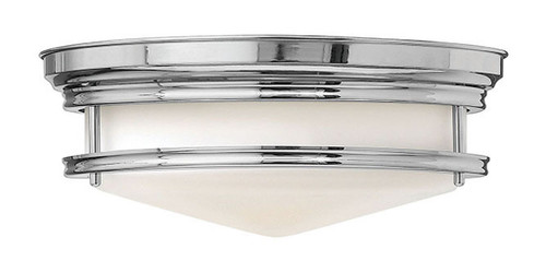 Hinkley Foyer Hadley Collection Large Flush Mount in Chrome, 3301CM