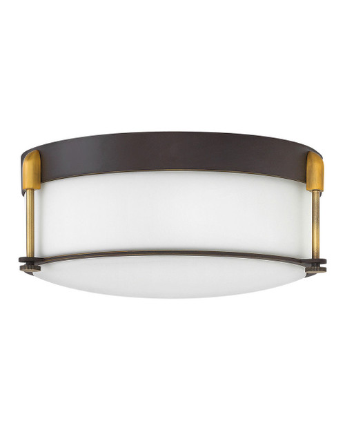 Hinkley Foyer Colbin Collection Large Flush Mount in Oil Rubbed Bronze, 3233OZ