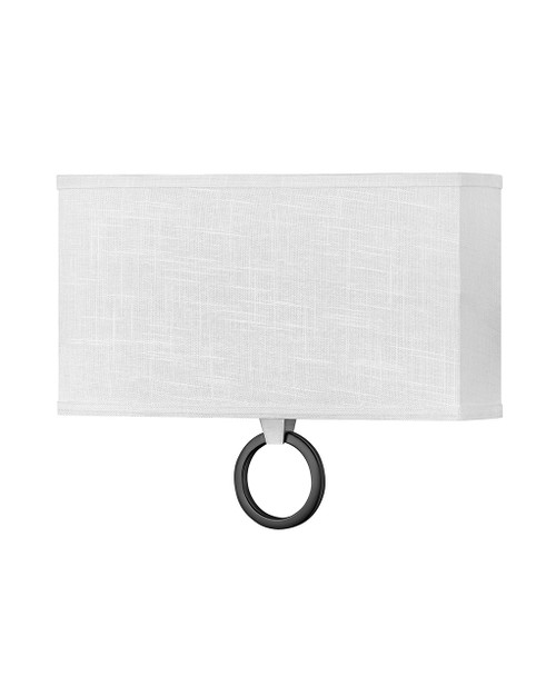 Hinkley Sconce Link Collection Two Light Sconce in Brushed Nickel, 41204BN