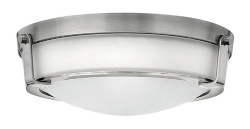 Hinkley Foyer Hathaway Collection Medium Flush Mount in Antique Nickel, 3225AN