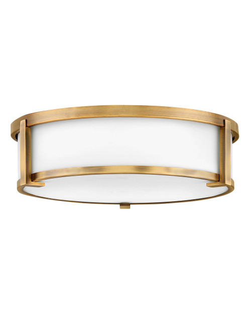 Hinkley Foyer Lowell Collection Large Flush Mount in Brushed Bronze, 3243BR