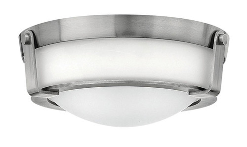 Hinkley Foyer Hathaway Collection Small Flush Mount in Antique Nickel, 3223AN-LED