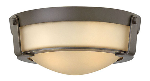 Hinkley Foyer Hathaway Collection Small Flush Mount in Olde Bronze, 3223OB-LED