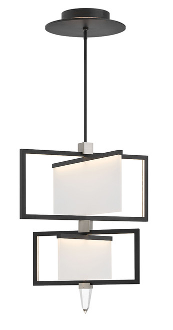 Hinkley Chandelier Folio Collection Large Two Tier in Black*, 32506BLK