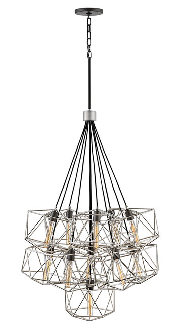 Hinkley Chandelier Astrid Collection Eleven Light Multi Tier in Glacial, 3029GG