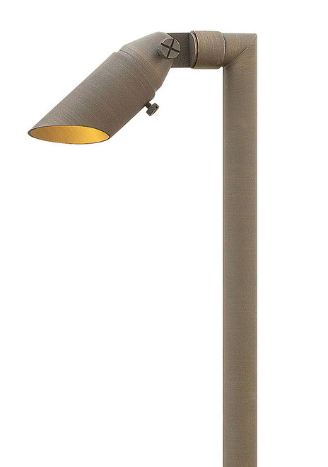 Hinkley Landscape Hardy Island Collection Hardy Island Spot Light and Stem LED in Matte Bronze, 16507MZ-27K60