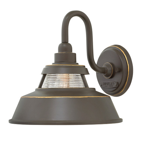 Hinkley Outdoor Troyer Collection Medium Wall Mount Sconce in Oil Rubbed Bronze, 1194OZ