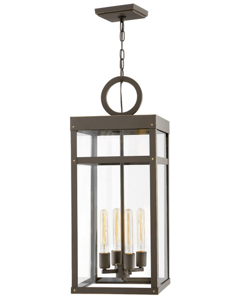 Hinkley Outdoor Porter Collection Large Single Tier in Oil Rubbed Bronze, 2808OZ