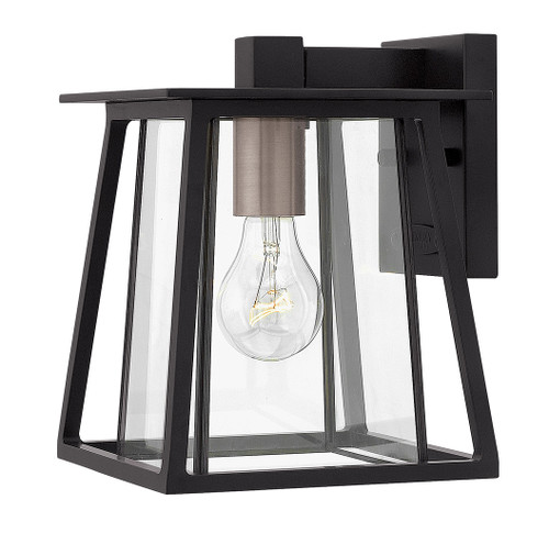 Hinkley Outdoor Walker Collection Extra Small Wall Mount Lantern in Black, 2106BK