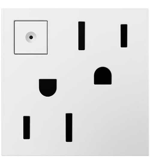 Legrand adorne Energy-Saving 15A On/Off Outlet