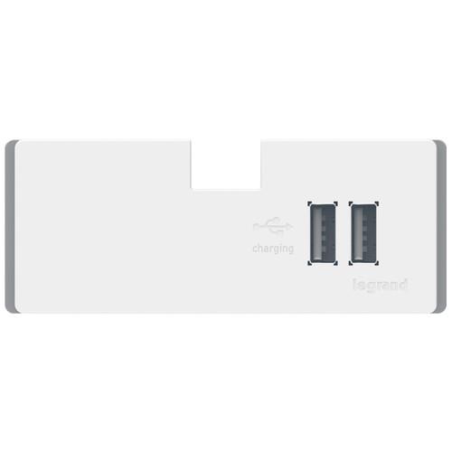 Legrand adorne Under-Cabinet 3.1Amp USB Charging Module