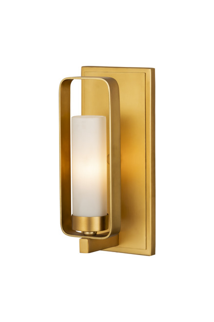 Z-Lite Aideen Collection 1 Light Wall Sconce in Tawny Brass