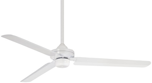 "Minka Aire 54"" 3-Blade Steal Ceiling Fan with Wall Control"