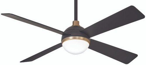 "Minka Aire 54"" 4-Blade Orb Ceiling Fan with Remote Control"
