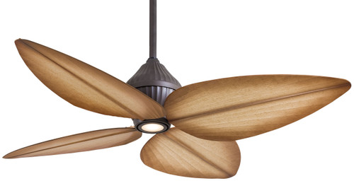 "Minka Aire 52"" 4-Blade Gauguin LED Ceiling Fan with Wall Control"